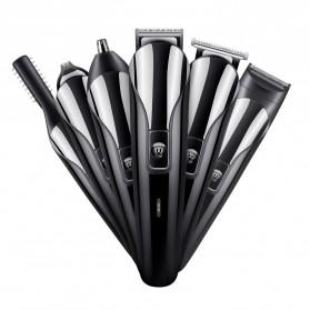 Shinon Alat Cukur Elektrik 6 in 1 Hair Trimmer Shaver - SH-1711 - Black - 2