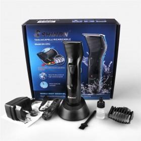 Shinon Alat Cukur Elektrik Hair Trimmer Shaver - SH-2251 - Black - 6