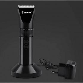 Shinon Alat Cukur Elektrik Hair Trimmer Shaver - SH-1966 - Black - 2