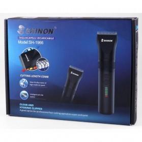 Shinon Alat Cukur Elektrik Hair Trimmer Shaver - SH-1966 - Black - 5