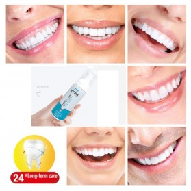 Baking Soda Serum Pemutih Gigi Teeth Whitening Dazzling Bright 60ml - 4