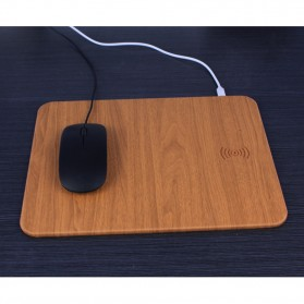 Mouse Pad with Qi Wireless Charging - C184 - Brown - 9