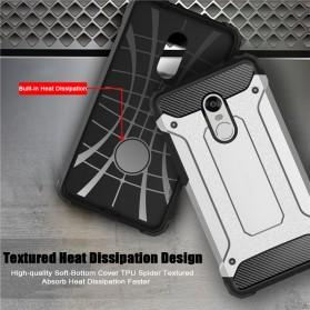 AEFUNDA Hybrid Iron Armor PC Hard Case for Xiaomi Pocophone F1 - Black - 5
