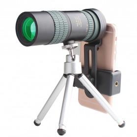 APEXEL Lensa Tele Zoom HD 8-24X30 Moncular untuk Smartphone - APS-8-24X30DT - Black
