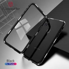 CaseMe Full 360 Adsorption Magnetic Case for iPhone XS - Black