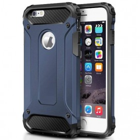 MLLSE Strong Shockproof Armor PC Hard Case for iPhone XS - Black - 5