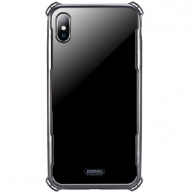 Remax Earl Glass Case for iPhone XS Max - Black