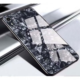 Proda Glass Phone Glitter Shell 3D for iPhone XS Max - Black