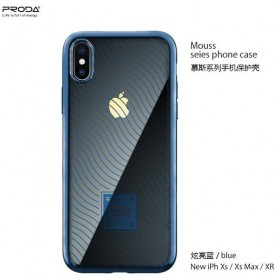 Proda Mouss Series Casing TPU Case for iPhone XS Max - Blue - 1