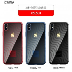 Proda Mouss Series Casing TPU Case for iPhone XS Max - Blue - 2