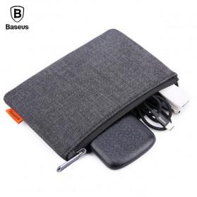 Baseus Pouch untuk Smartphone 5.5 Inch - Black