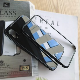WK Magneto Glass Case for iPhone XS Max - Black - 2