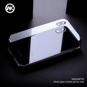 WK Magneto Glass Case for iPhone XS Max - Black - 3