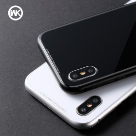 WK Magneto Glass Case for iPhone XS Max - Black - 4