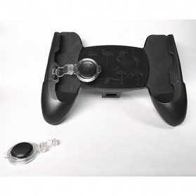 Smartphone Gamepad Hand Grip Holder with Stand & Joystick - JL01 - Black - 6
