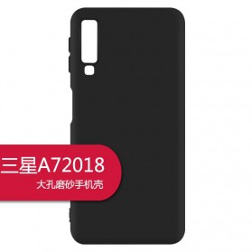 Matte Hard Case for Samsung Galaxy A7 2018 - S101 - Black
