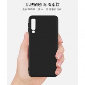 Matte Hard Case for Samsung Galaxy A7 2018 - S101 - Black - 2