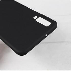Matte Hard Case for Samsung Galaxy A7 2018 - S101 - Black - 7