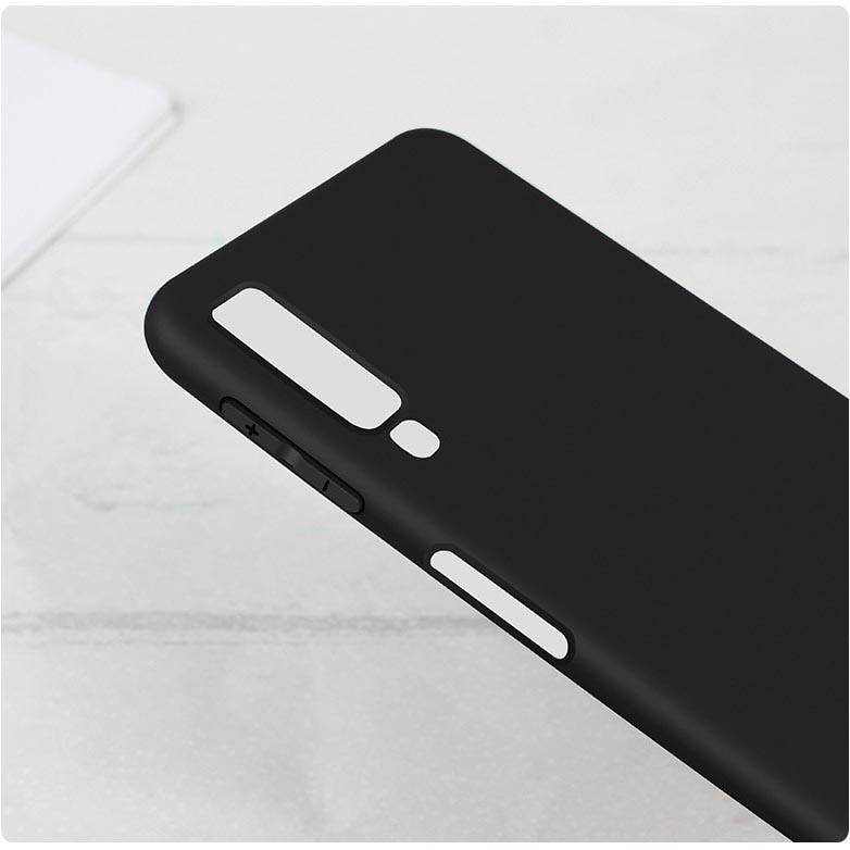 Matte Hard Case For Samsung Galaxy A7 2018 Black Jakartanotebook Com