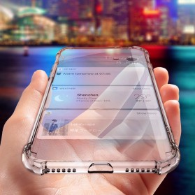 Anti Crack TPU Softcase for iPhone X/XS - XM18379 - Transparent