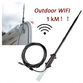 ALLOYSEED USB WiFi Antena Outdoor High Power Signal Amplifier 1000 Meter - 117991 - 3