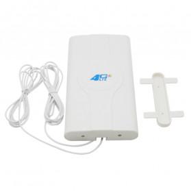 Oserjep MIMO External Antena 3G 4G LTE Dual SMA Connector 700-2600mhz 88dBi - White - 2