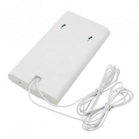 Oserjep MIMO External Antena 3G 4G LTE Dual SMA Connector 700-2600mhz 88dBi - White - 3
