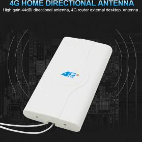 Oserjep MIMO External Antena 3G 4G LTE Dual SMA Connector 700-2600mhz 88dBi - White - 8
