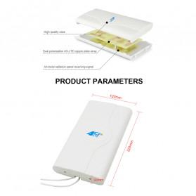 Oserjep MIMO External Antena 3G 4G LTE Dual SMA Connector 700-2600mhz 88dBi - White - 11