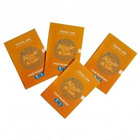 Passpod Travel SIM Card Kartu Internet High Speed 4G LTE Hongkong+Macao 7 Days Unlimited 1.5GB/Day - 4
