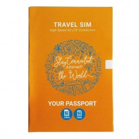 Passpod Travel SIM Card Kartu Internet High Speed 4G LTE China/HK 8 Days Unlimited 1GB/Day