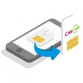 CMLink Travel SIM Card Kartu Internet High Speed 4G LTE Europe 15 Days Unlimited 5GB/Day - 4