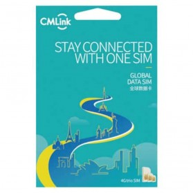 Kartu Perdana Internet ( Sim Card ) - CMLink Travel SIM Card Kartu Internet High Speed 4G LTE USA 10 Days Unlimited 500MB/Day