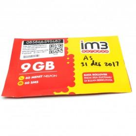 Kartu Perdana Internet ( Sim Card ) - Indosat IM3 Ooredoo 23GB (9GB & 14GB) 2 Bulan (SUDAH AKTIF)