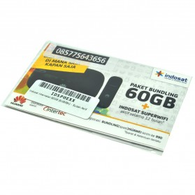 Indosat 4G Internetan 60GB (5GB/Bln) Selama 12 Bulan + SuperWIFI (SUDAH AKTIF) - 2