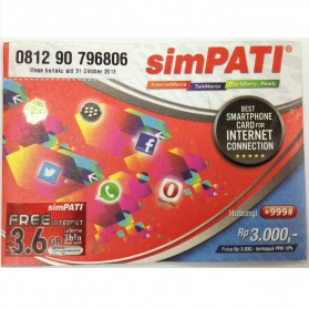 Telkomsel Simpati Internet - Kuota 1.2GB per Bulan Gratis 3 Bulan