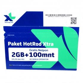 Kartu Perdana XL HOTROD XTRA Kuota 2GB + 100 Menit (All Operator) (SUDAH AKTIF)