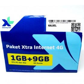 Kartu Perdana XL Xtra Internet Kuota 1GB + 9GB (SUDAH AKTIF)