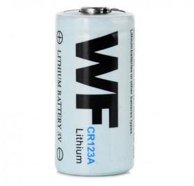 Baterai WF 16340 CR123A Li-ion 3V - White