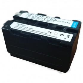 Baterai Kamera NP-F770 NP-F750 for Sony NP-F550 NP-F770 NP-F750 F960 F970 - Black