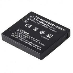 Baterai Kamera DMW-BCE10 for Panasonic Lumix DMC-FX30EG-K - Black - 4