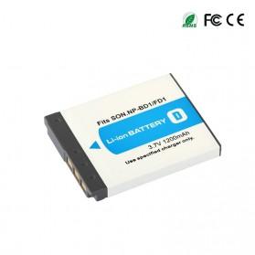 Baterai Kamera NP-BD1 NF-FD1 for Sony DSC T300 TX1 T900 T700 T500 T200 - White