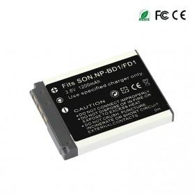 Baterai Kamera NP-BD1 NF-FD1 for Sony DSC T300 TX1 T900 T700 T500 T200 - White - 2