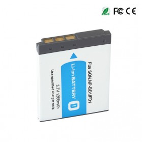 Baterai Kamera NP-BD1 NF-FD1 for Sony DSC T300 TX1 T900 T700 T500 T200 - White - 3
