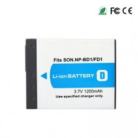 Baterai Kamera NP-BD1 NF-FD1 for Sony DSC T300 TX1 T900 T700 T500 T200 - White - 4