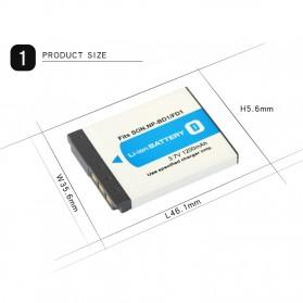 Baterai Kamera NP-BD1 NF-FD1 for Sony DSC T300 TX1 T900 T700 T500 T200 - White - 5