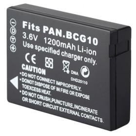 Baterai Kamera DMW-BCG10 for Panasonic Lumix DMC-3D1 DMC-TZ7 DMC-TZ8 DMC-TZ10 DMC-TZ18 DMCTZ1 - Black - 2