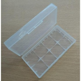 Transparent Battery Case for 2x18650 - Transparent - 2