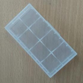 Transparent Battery Case for 2x18650 - Transparent - 3