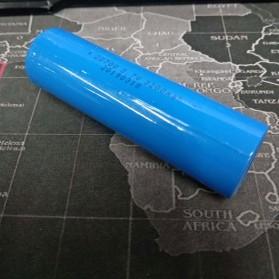 Baterai Li-ion 20700 3.7V 3200mAh Flat Top - Blue